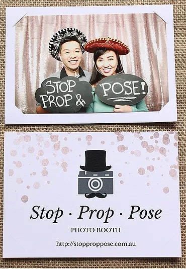 Photo booth demo