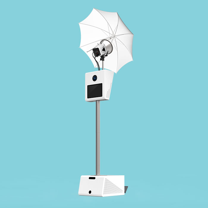 Photo booth rental - The Classic Booth With Umbrella